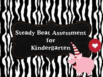 Steady Beat Assessment Card