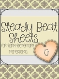 Steady Beat Sheets