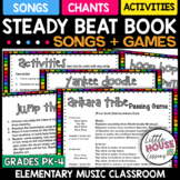 Steady Beat Songs and Games for PreK and Elementary Music