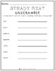 Steady Beat Worksheets