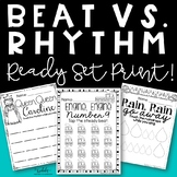 Steady Beat and Rhythm {Ready, Set, Print!}