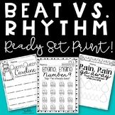 Steady Beat and Rhythm {Ready, Set, Print!}