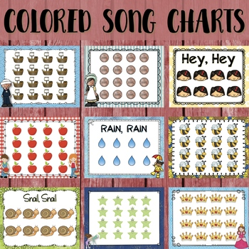 Steady Beat for the Music Classroom: Seasonal and Song-Specific Charts