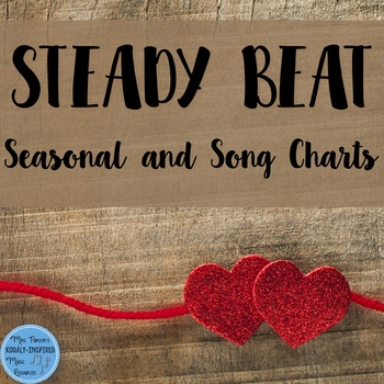 Steady Beat for the Music Classroom {Seasonal and Song-Specific Charts}