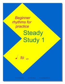 Steady Study 1   Rhythm Practice