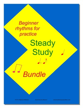 Steady Study Bundle  Rhythm Practice