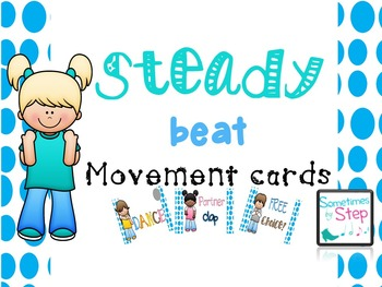 Steady beat movement cards