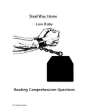 Steal Away Home Reading Comprehension Questions
