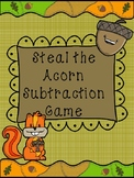 Steal an Acorn! Fall Subtraction Game