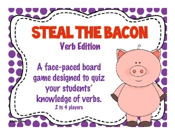 Steal the Bacon Verb Edition