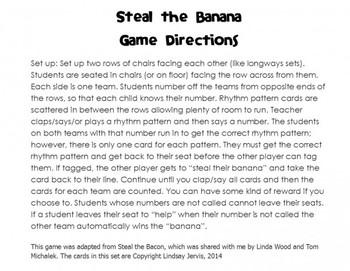 Steal the Banana: Bundled Rhythm Game