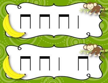 Steal the Banana: ta & titi