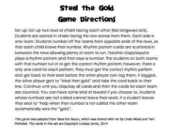Steal the Gold: ti-tiri