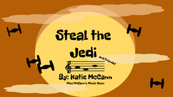Steal the Jedi-La (Star Wars Inspired Game)
