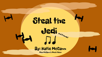 Steal the Jedi-Quarter/Eighth (ti ti ta): A Star Wars Inspired Game