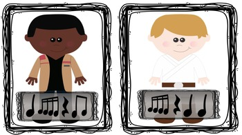 Steal the Jedi-Sixteenth notes (tika tika): A Star Wars Inspired Game