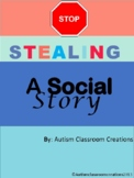 Stealing ~ A Social Story for students with Autism Spectrum Disorders