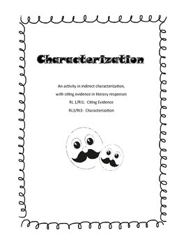 Stealing Clues and Citing Evidence:  Indirect Characterization