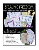 Stealing Freedom Novel Study 5th 6th Slavery Social Studies Historical Fiction