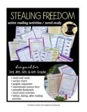 Stealing Freedom Novel Study 5th 6th Slavery Social Studie