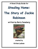 """""""Stealing Home:  The Story of Jackie Robinson"""" Novel Study"""