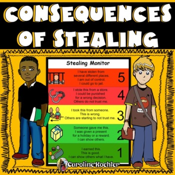 Stealing Monitor: Tool to Discuss the Consequences of Theft