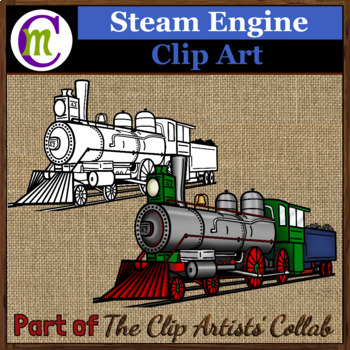 Steam Engine Clip Art | Mar. 2017 Clip Artists' Collaborat