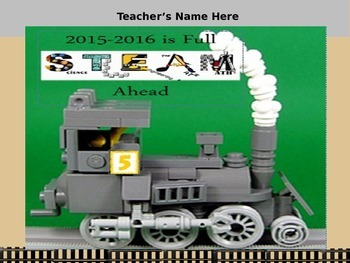 Steam Nameplate Locker Tag or Desk plate