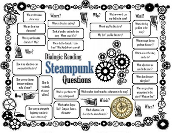 Steampunk Dialogic Guided Reading Questions