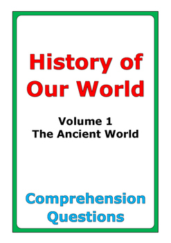"""Steck-Vaughn """"History of Our World: Volume 1"""" comprehension questions"""