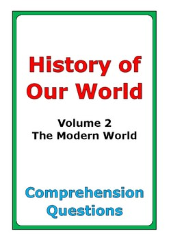 """Steck-Vaughn """"History of Our World: Volume 2"""" comprehensio"""