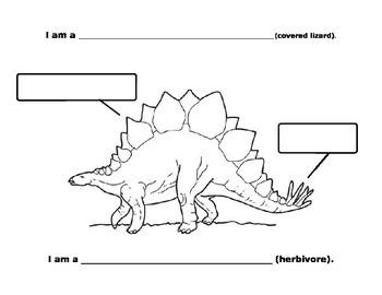 Stegosaurus and Tyrannosaurus  Rex