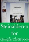 "Steinalderen for Google Classroom ""NO-PREP"""