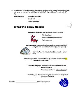 Steinbeck ~ Of Mice and men Essay Prompts with Rubric COMMON CORE