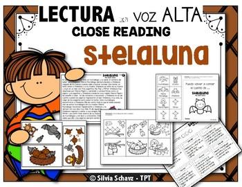 """Stelaluna - """"Close Reading"""" con  lectura en voz alta (Stellaluna)"""
