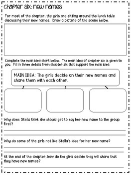 Stella Batts: Needs A New Name Comprehension/Vocabulary Guide