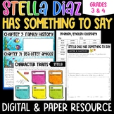 Stella Diaz Has Something to Say Novel Study for Distance