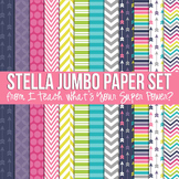 Stella Jumbo Set Digital Papers