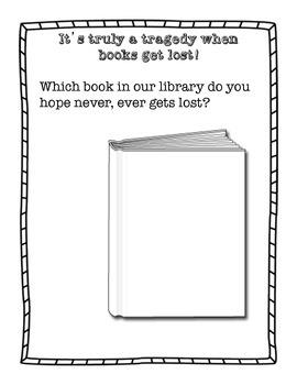 Stella Louella's Runaway Book Activity Page