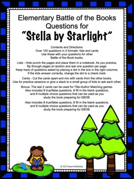 Stella by Starlight - 130+  EBOB Questions