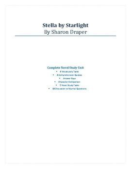 Stella by Starlight - Complete Novel Study