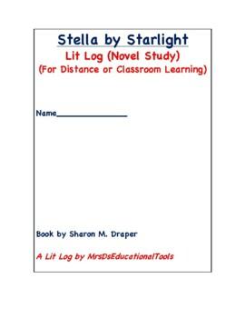 Stella by Starlight Lit Log