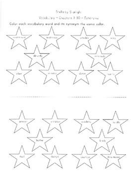 Stella by Starlight Vocabulary