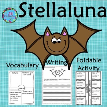 Stellaluna Activities Book Companion (Interactive printable and writing rubrics)