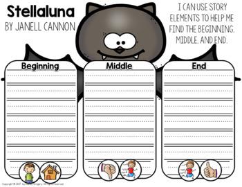 Stellaluna: 5 Days of ELA Lessons & Materials