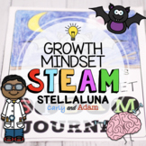 Stellaluna Bat Directed Drawing Growth Mindset STEAM Activity