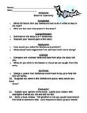 Stellaluna - Bloom's Taxonomy Questions