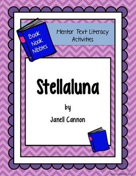 Stellaluna - Book Nook Nibble Mentor Text Literacy Activities