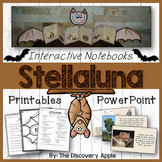 Stellaluna Book Study Bats Interactive Notebooks Printables, Editable PowerPoint