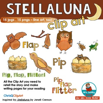 Stellaluna | Clip Art | Story Time